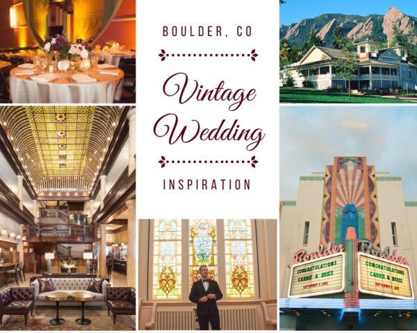 Vintage Wedding Collage