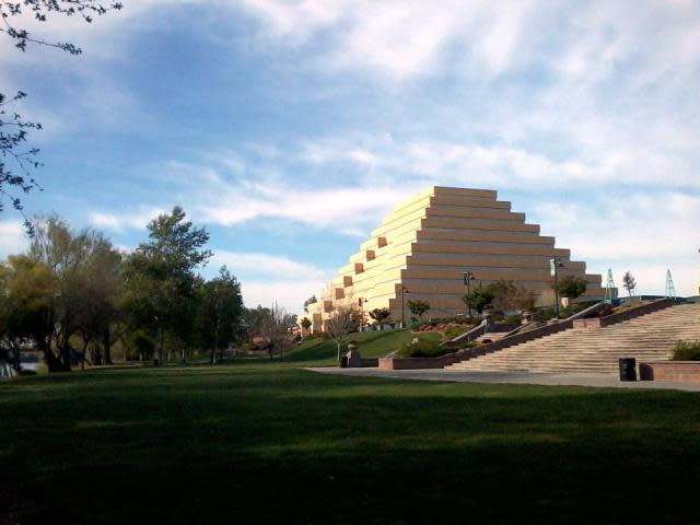 Ziggurat Building in West Sacramento