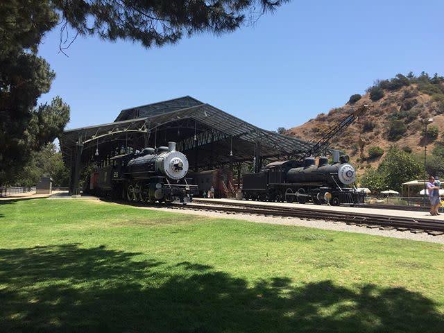 Travel Town Train