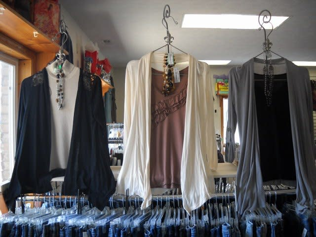 Find gently used ladies fashions at Divine Consign in Mooresville.
