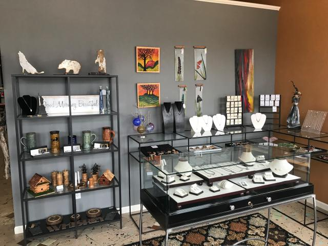 Find jewelry, clothing and work from local artisans at The Sterling Butterfly in Martinsville.