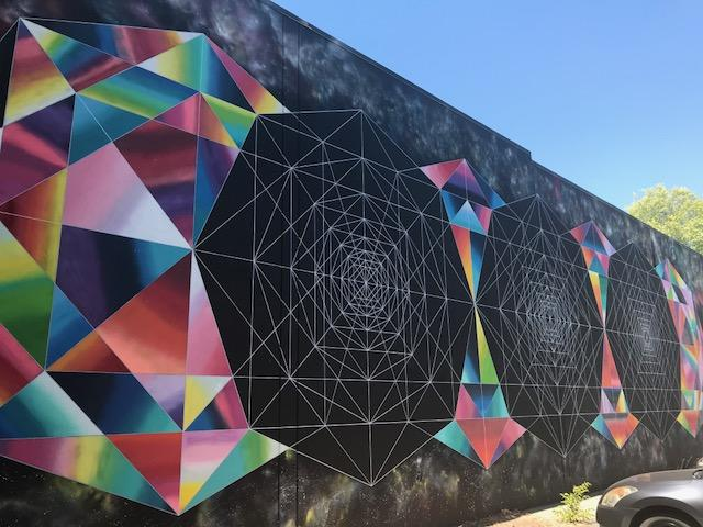 Beatnik Studios Parking Lot Mural