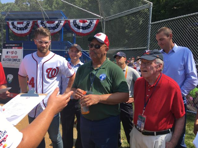 Visit Fairfax at Bryce Harper Field Dedication