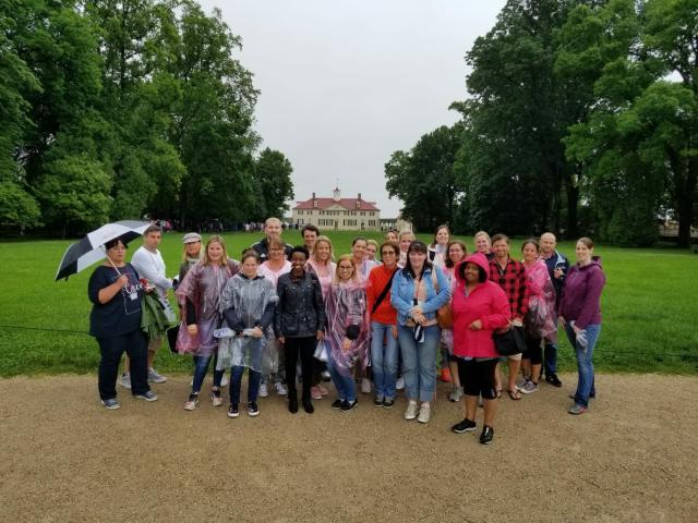 German Tour Operators visit Mount Vernon