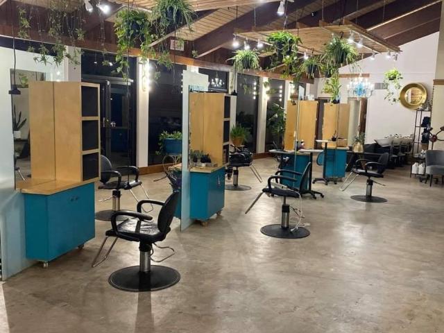 Turquoise Salon