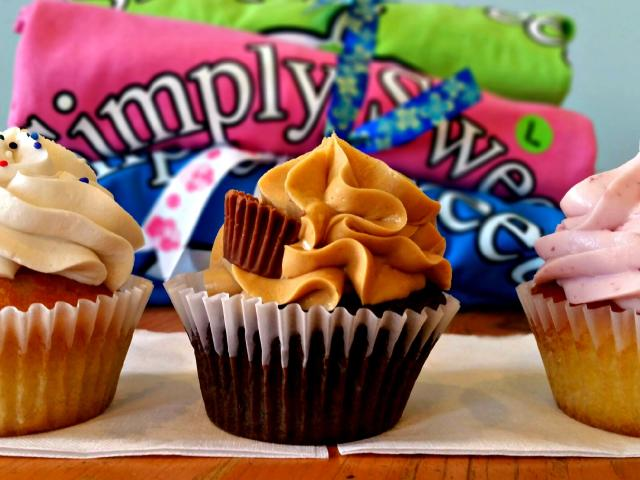 Trio of Cupcakes