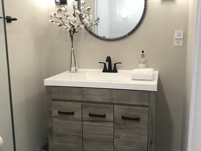 Stylish and functional bathrooms
