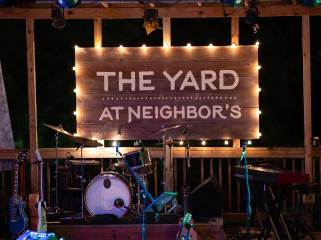 Yard Stage