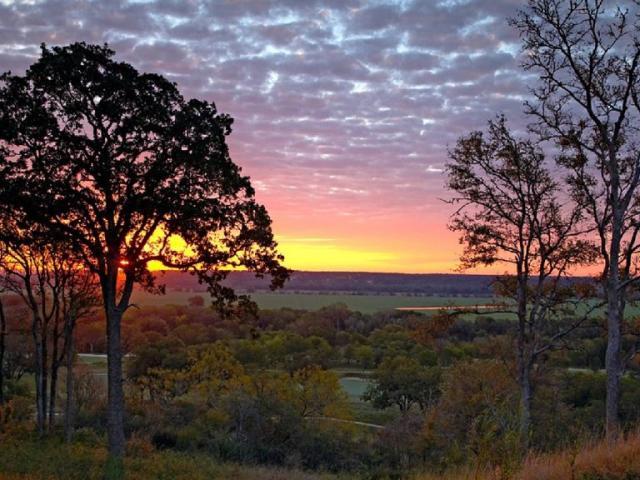 Sunrise over McKinney Roughs Nature Park