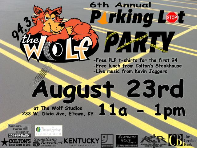 94.3 The Wolf Parking Lot Party