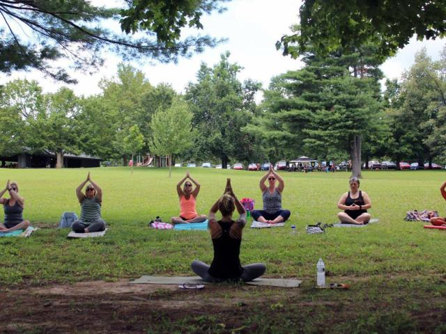 Community Yoga in the Park