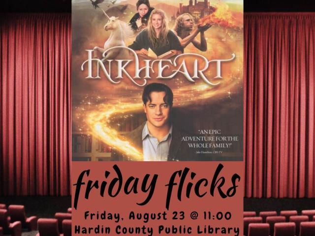 """Friday Flicks, """"Inkheart"""""""