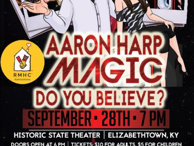Aaron Harp Magic Show