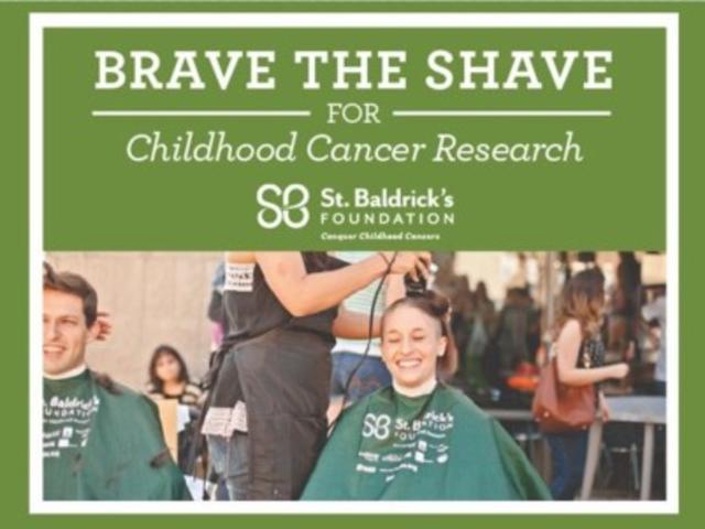 St. Baldrick's Downtown Shavedown on Second Saturday