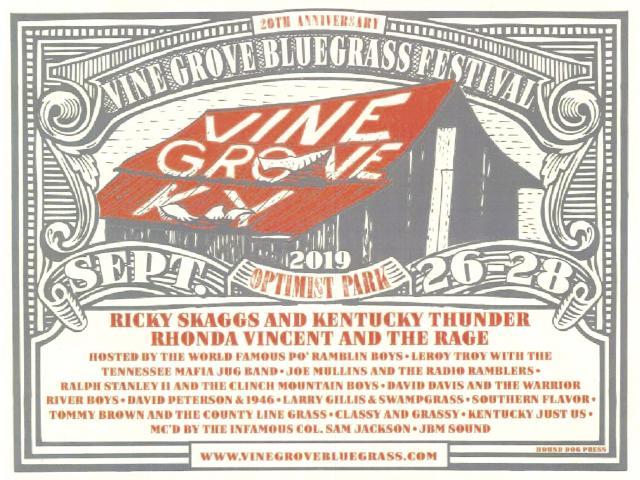 Vine Grove Bluegrass Festival