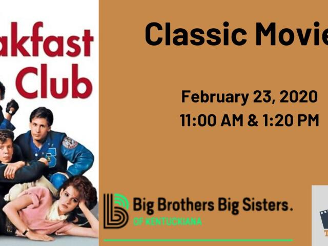 Classic Movies: The Breakfast Club