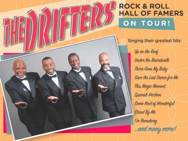 The Drifters, in Concert