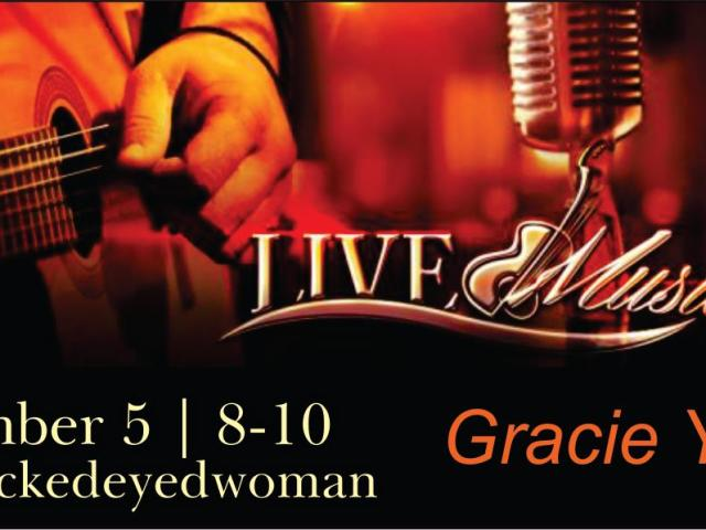 LIVE Music with Gracie Yates