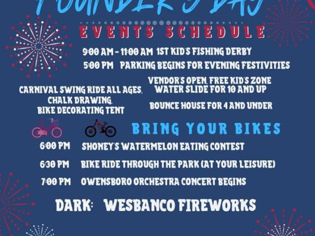 July 4th Founders' Day Celebration