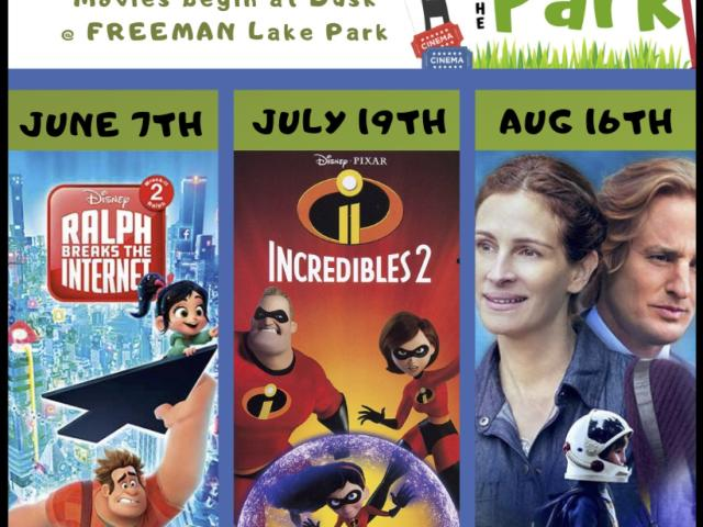 "4th Annual Movies Under the Stars, ""Wonder"""