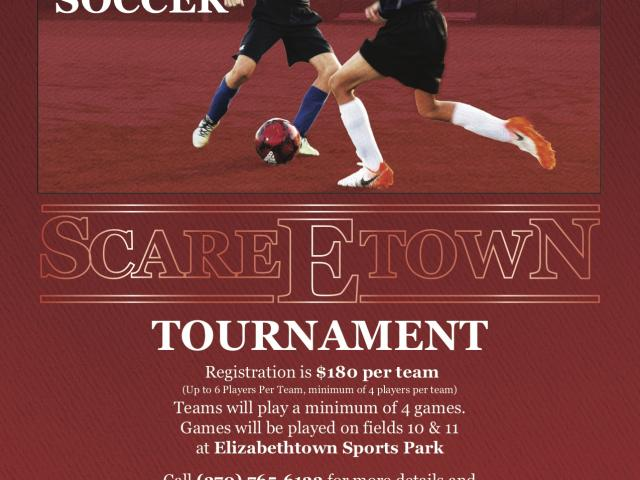 Scare Etown 3v3 Soccer Tournament