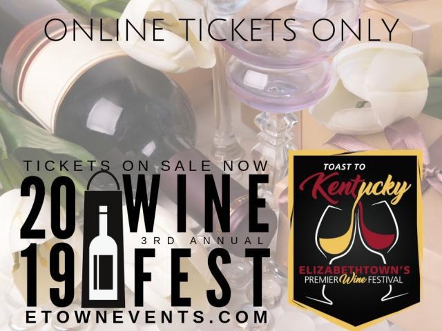 A Toast to Kentucky:  Elizabethtown's Premier Wine Festival
