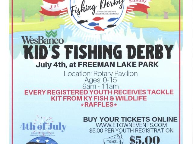 Wesbanco Kid's Fishing Derby