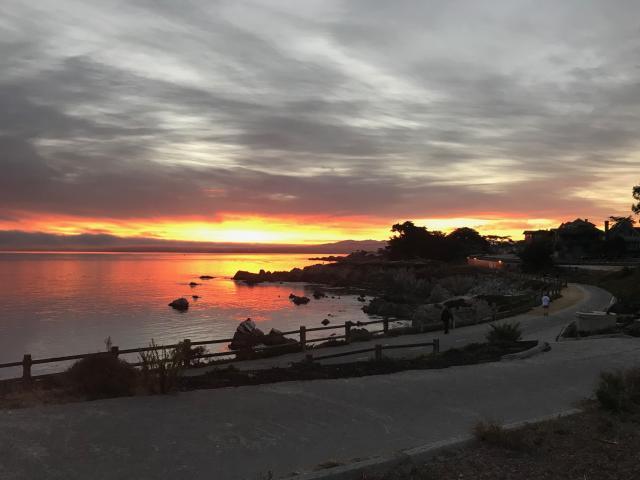 Pacific Grove Monterey Recreation Trail Sunrise
