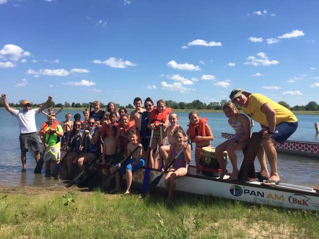 2014 Dragonfest RecPlex Children with boat