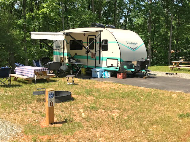 Explore Park Roanoke County - RV Camper