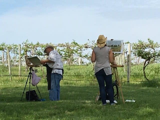 Painting at Plein Air