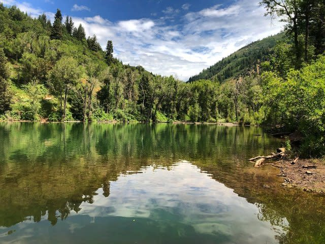 Tibble Fork Reservoir in Summer