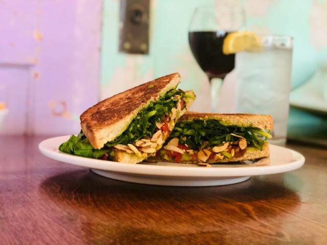 Lulu Sandwich from Tanya's Soup Kitchen
