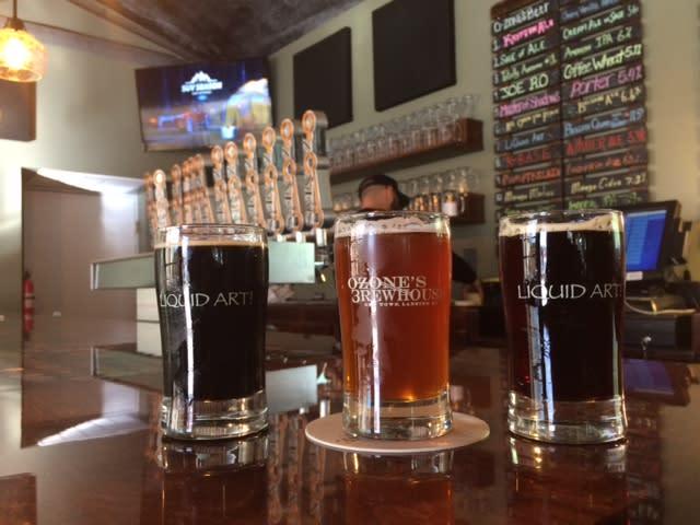 Ozone's Sampler beers
