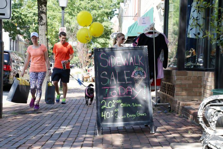 Sidewalk Sale Sign