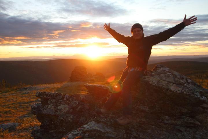 Midnight Sun Hiking on Murphy Dome - Joe Sliker