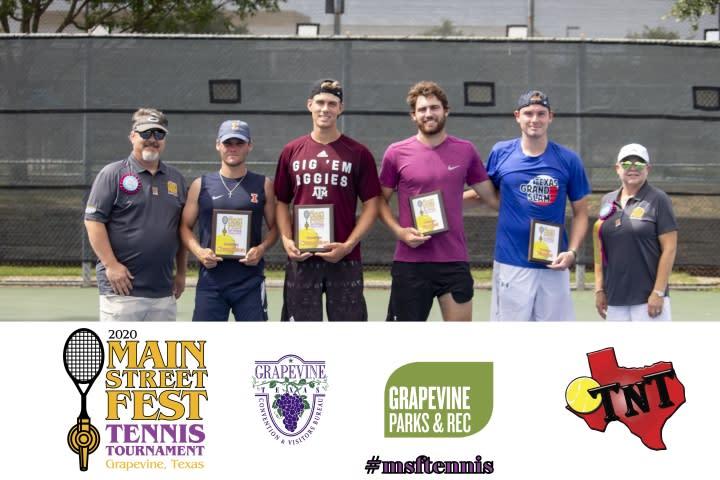MSF Tennis Doubles Winners