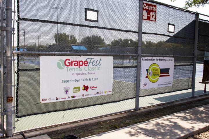 The Grapefest Tennis Classic invites festival-goers to have some fun on and off the court.