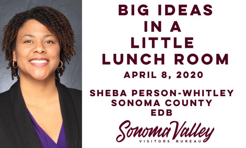 Big Ideas in a Little Lunch Room - photo of Sheba Person Whitley