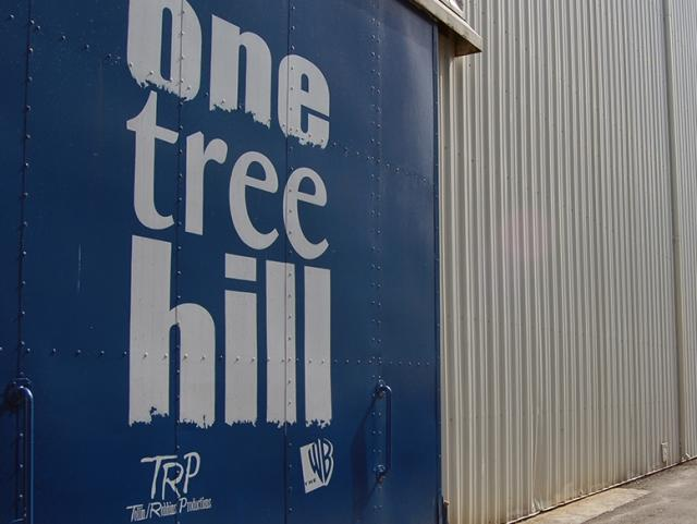 Exterior Of the One Tree Hill Set