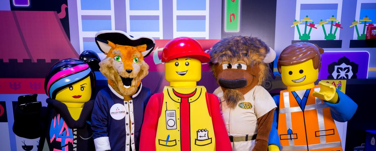 Monty and Mascots at Legoland