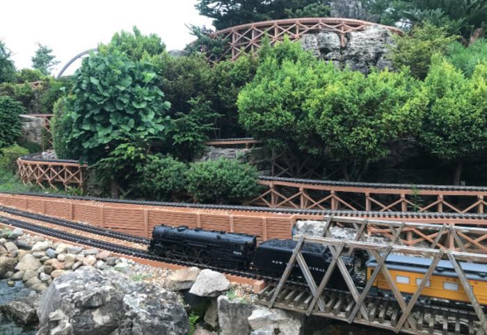 Gabis Arboretum Railway Garden - Carolyn Hricik