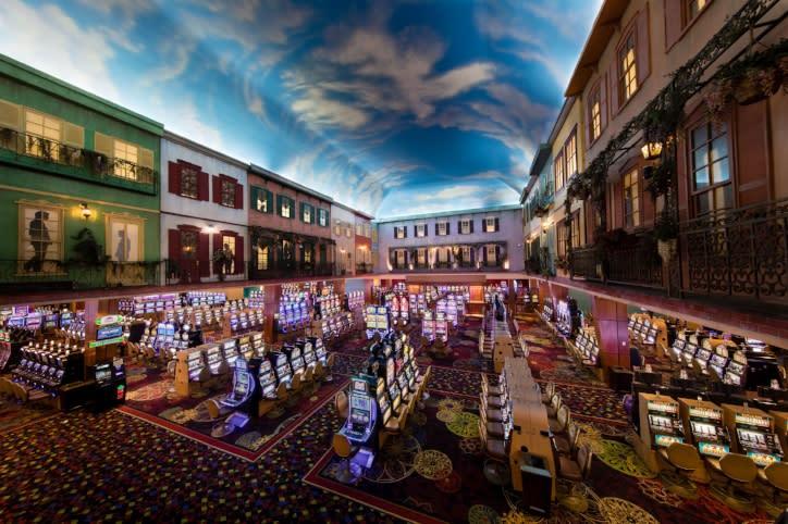 Delta Downs Casino Floor