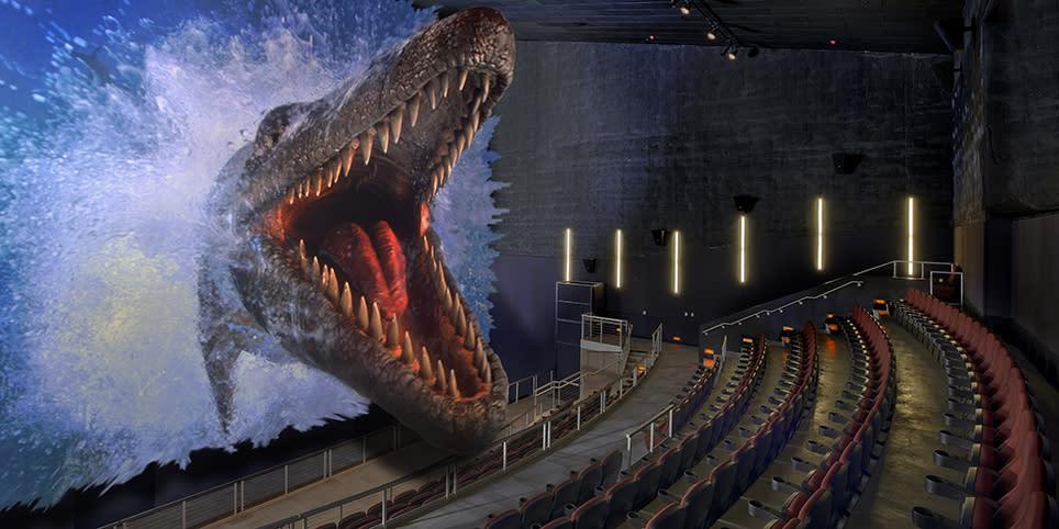 Peoria Riverfront Museum Dinosaur