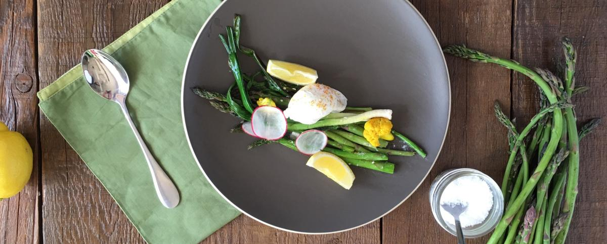 The Wild Asparagus Dish