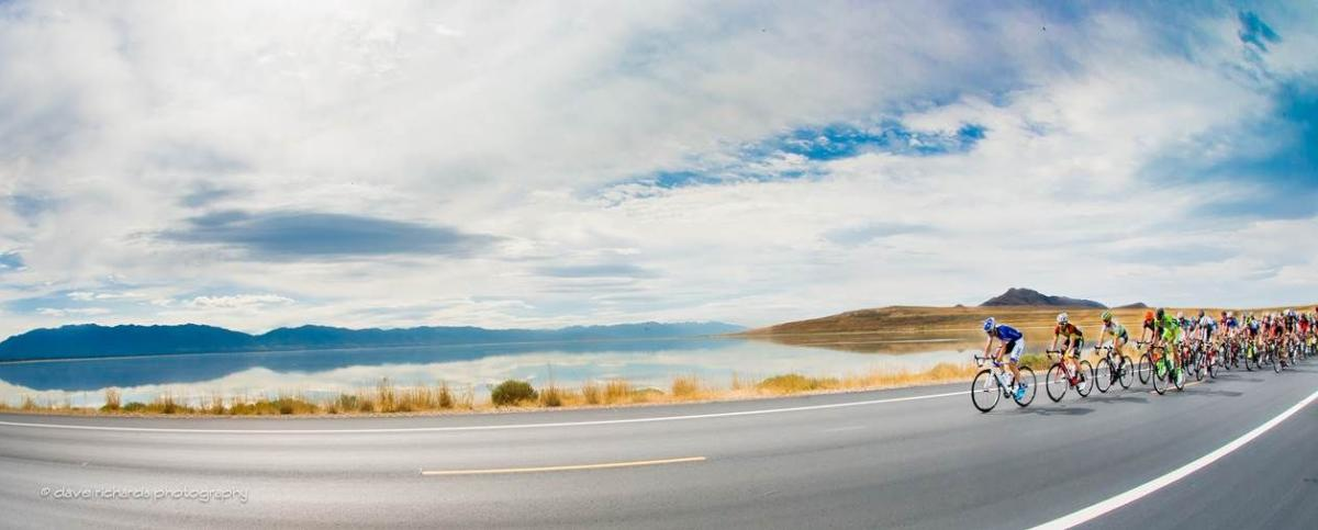 Tour of Utah on the Antelope Island Causeway
