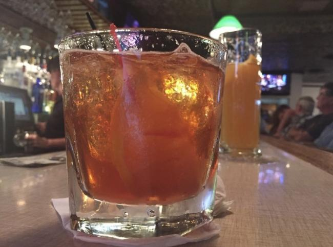 Old Fashioned at Connell's Supper Club in Eau Claire