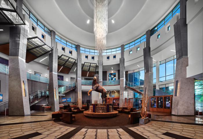 Casino lobby