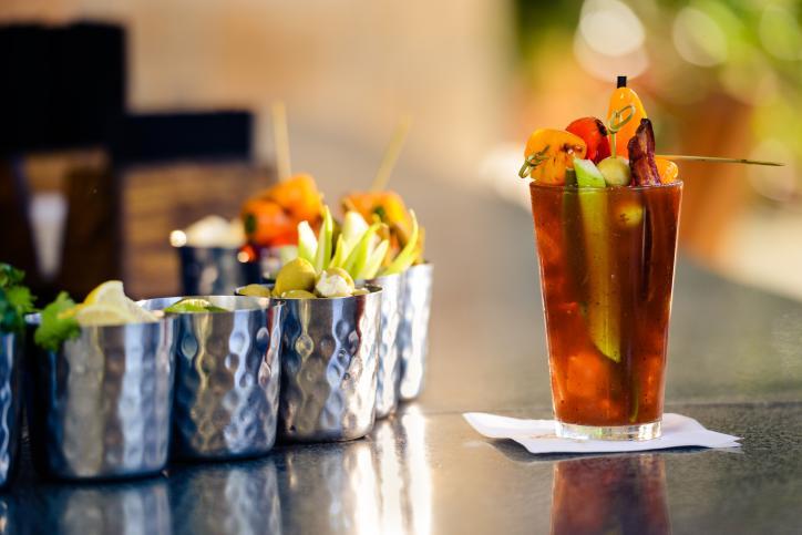 Bloody Mary Bar at L