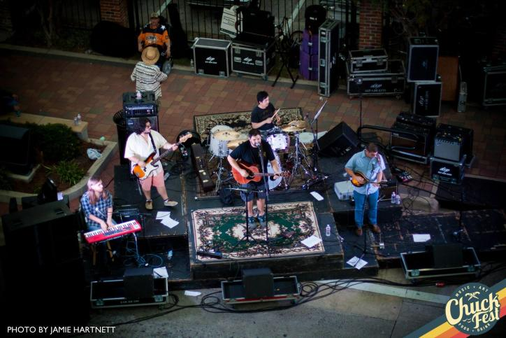 Chuck Fest transforms the 600 & 700 blocks of Ryan St. into a concert stages.